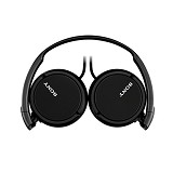 SONY Headphones [MDR-ZX110AP] - Black (Merchant) - Headphone Full Size